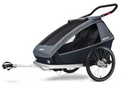 Croozer Kid Vaaya 2 - Graphite blue