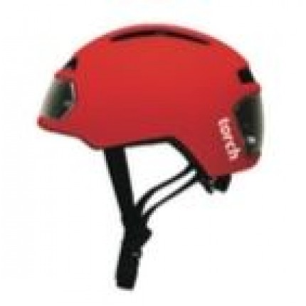 Torch helm Rood